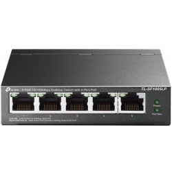 Switch Desktop 5 porte 10/100Mbps con 4-Port PoE TL-SF1005LP