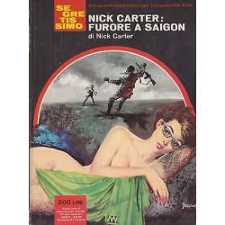 Collana Segretissimo Mondadori, nr.146 - Nick Carter: furore a Saigon - 1966