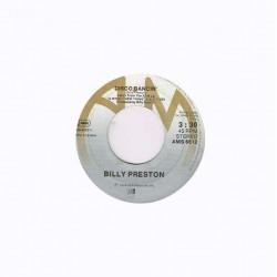 "Billy Preston: Disco Dancin' / Wide Stride (HOL 1978) 7"" 45 giri"
