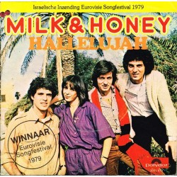"""Milk & Honey: Hallelujah / Lady Sun (HOL  1979) 7"""" 45 giri"""