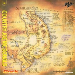 Country Joe McDonald - Vietnam Experience (ITA 1989 DeAgostini, Rag Baby IGDA 1039/1040) LP EX