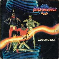 Peter Jacques Band - Welcome Back (ITA 1980 Goody Music  GOM 30009) LP