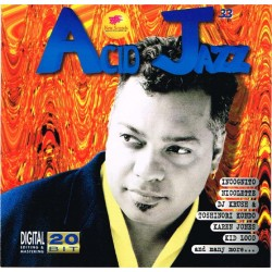 Acid Jazz Vol. 33 (ITA 1998 New Sounds Multimedia CNZ 033) CD