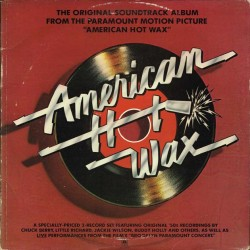 "The Original Soundtrack Album From The Paramount Motion Picture ""American Hot Wax"" (HOL 1978 A&M Records AMLM 66500) 2xLP"