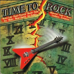 Vari - Time To Rock (GER 1987 WEA 241 158-1) LP NM