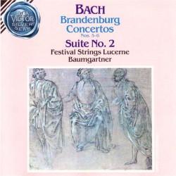 Bach - Brandenburg Concertos N.5-6 / Suite N.2: Rudolf Baumgartner, Festival Strings Lucerne