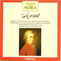 Mozart - Serenata In Sol Magg. K.525 / Divertimento K. Anh. 229 Per Due Clarinetti E Fagotto / Divertimento In Re Magg. K.136 /