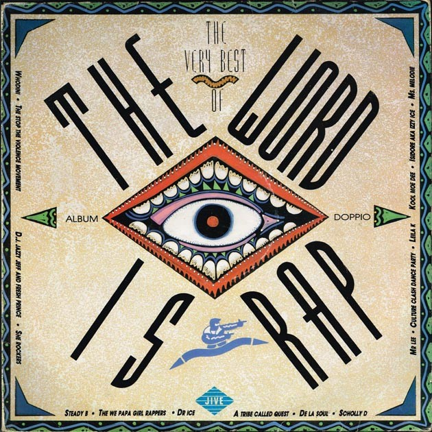 """The Very Best Of  """"The Word Is Rap"""" (ITA 1988 Jive ZL 74533) 2xLP"""