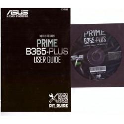 DRIVER DVD + MANUALE x scheda madre main board ASUS Prime B365-Plus