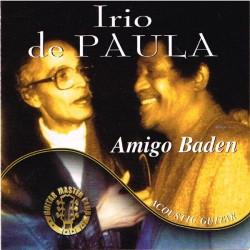 Irio De Paula - Amigo Baden Acoustic Guitar (ITA 2002 Azzurra Music TBPG1007) CD
