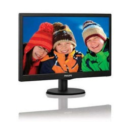 "Monitor Philips 18,5"" Led 5ms 200cd/M2 Black Vga"