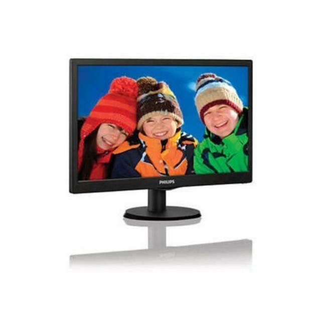 "Monitor Philips 18,5"" Led 5ms 200cd/M2 Black Vga"