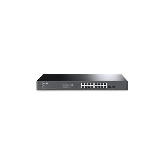 Switch Smart 16 Porte Gigabit 2 slot SFP JetStream by Omada