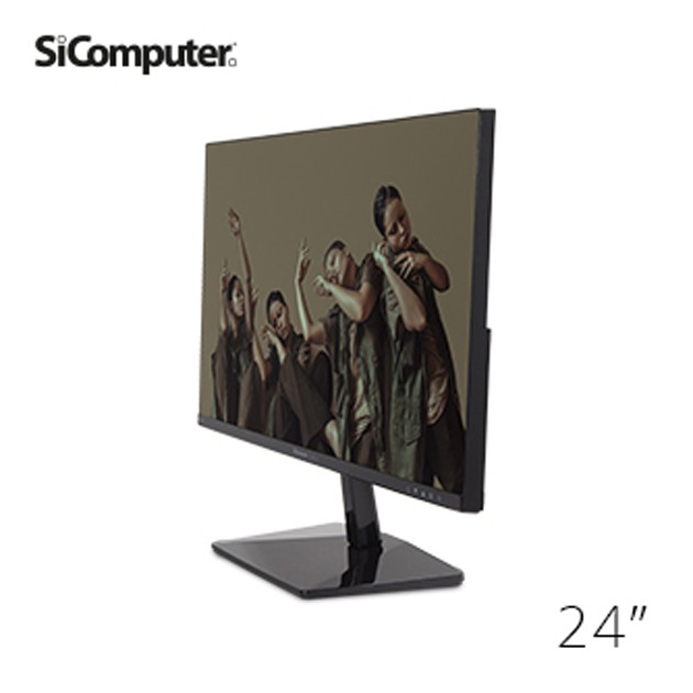"MONITOR SICOMPUTER SCENA 23,8"" IPS NC24 16:9 - MULTIMEDIALE, VGA, HDMI"