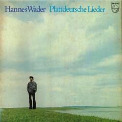 Hannes Wader - Plattdeutsche Lieder (GER 1974 Philips 6305 218) LP