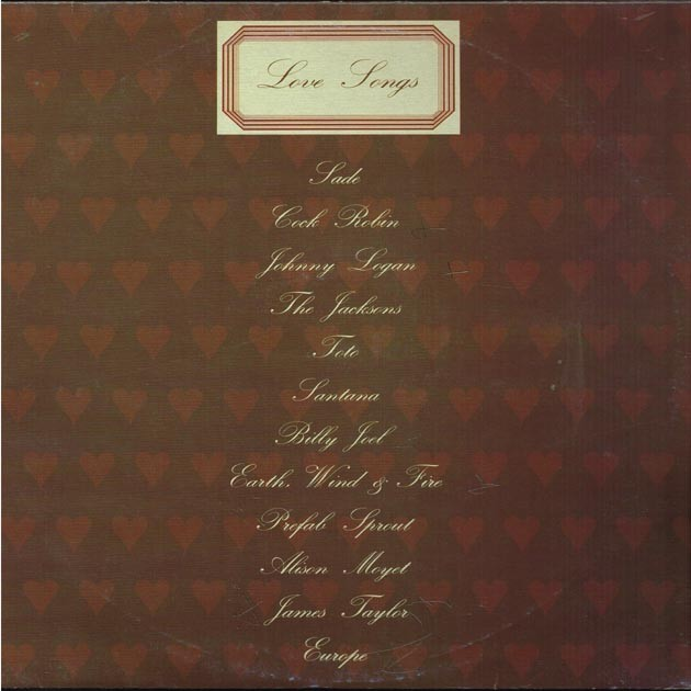 Vari - Love Songs (ITA 1989 CBS 460939 1) LP