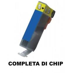 CARTUCCIA COMPATIBILE CANON CLI-8C  CIANO