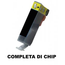 CARTUCCIA COMPATIBILE CANON CLI-521BK XL NERO