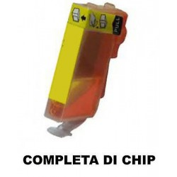 CARTUCCIA COMPATIBILE CANON CLI-521Y XL GIALLO