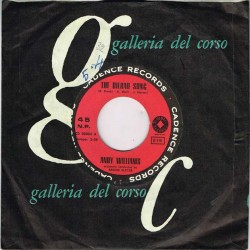 """Andy Williams - The Bilbao Song / How Wonderful To Know (ITA 1961) 7"""" 45 giri"""