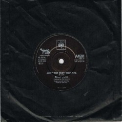 """Billy Joel - Just The Way You Are / My Life (UK 1977 CBS A4591) 7"""" 45 giri"""