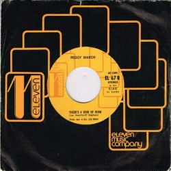 """Peggy March - You And I / There's A Kind Of Hush (ITA 1977) 7"""" 45 giri"""