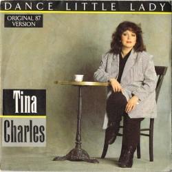 "Tina Charles - Dance Little Lady Dance / I'll Go Where The Music Takes Me (ITA 1987) 7"" 45 giri"