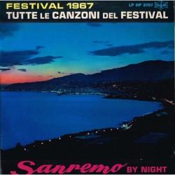 Vari - Sanremo By Night - Festival 1967 - Tutte Le Canzoni Del Festival (ITA 1697 GR LP HP 3707) LP