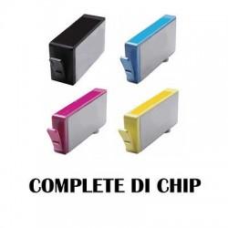 CARTUCCE COMPATIBILE HP 920 XL KIT  4  COLORI