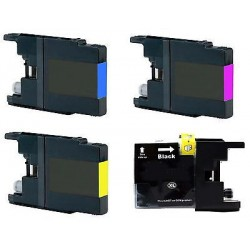 CARTUCCE  COMPATIBILI   BROTHER LC-1280 XL KIT 4 PEZZI