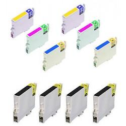 CARTUCCE COMPATIBILI EPSON SERIE T1280 KIT 10 Colori (taglia M) Volpe