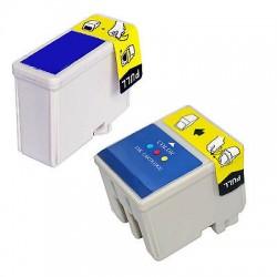 CARTUCCE COMPATIBILI EPSON KIT  Nero+Colori T050/T013 + T052/T014