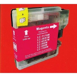 CARTUCCIA COMPATIBILE   BROTHER LC980M/LC1100M MAGENTA