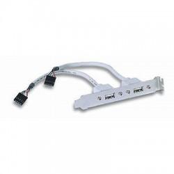 Cavetto Slot USB 2 porte 2 connettori 5 pin su una fila