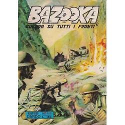 BAZOOKA - Guerra su tutti i fronti NR.155 del 07/03/1972 editrice DARDO