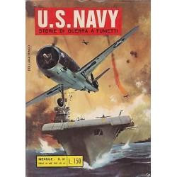 """COLLANA RINGO US U.S. NAVY NR.31 del 08/1971 ediz. Bianconi"""""""