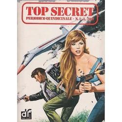 COLLANA Top Secret NR.01 del 06/1975 ediz. DARDO - Ali di morte