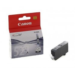 CARTUCCIA ORIGINALE CANON CLI-521BK NERO