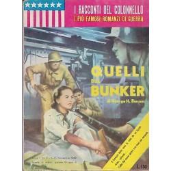 I racconti del colonnello NR. 2 - Quelli del bunker, George H. Benson - 1960