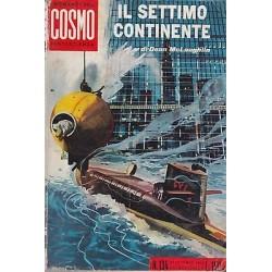 I Romanzi del Cosmo, nr.134 - Il settimo continente, Dean McLaughlin - 1963