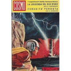 Cosmo, i capolavori, nr.39 - La leggenda del dio d'oro/L'eredità perduta - 1965