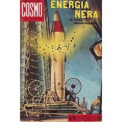 I Romanzi del Cosmo, nr. 29 - Energia nera di Russ Winterbothan - 1959