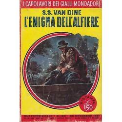 Capolavori Giallo Mondadori, nr.185 - L'enigma dell'alfiere, S.S. Van Dine- 1961
