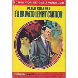 Capolavori Giallo Mondadori, nr.243-E' arrivato Lemmy Caution,Peter Cheyney-1964