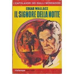 Capolavori Giallo Mondadori, nr.276-Il signore della notte, Edgar Wallace  1965