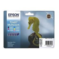 MULTIPACK ORIGINALE EPSON T0487 C13T04874020 6 COLORI (T0481-482-483-484-485-486)