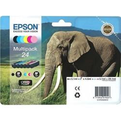 MULTIPACK ORIGINALE EPSON 24 (ELEFANTE) 6 COLORI C13T24284010