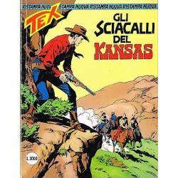 TEX NR.  17 Gli sciacalli del Kansas (1997) Bonelli