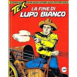 TEX NR.  19 La fine di Lupo Bianco (1997) Bonelli