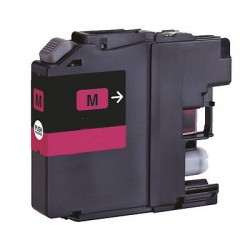 CARTUCCIA COMPATIBILE   BROTHER LC-123M MAGENTA